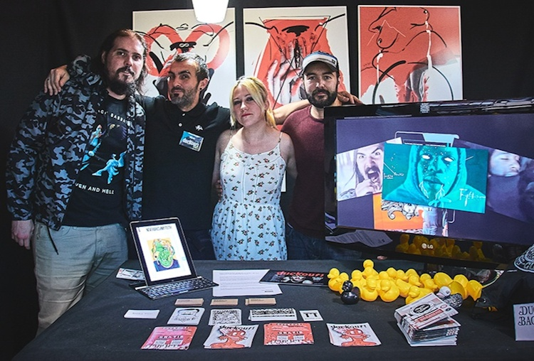 Dockout | app | entrevista | Arte a un Click | A1CArtes