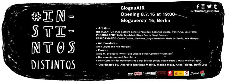 Instintos Distintos | GlogauAIR | Arte a un click | A1CExpos