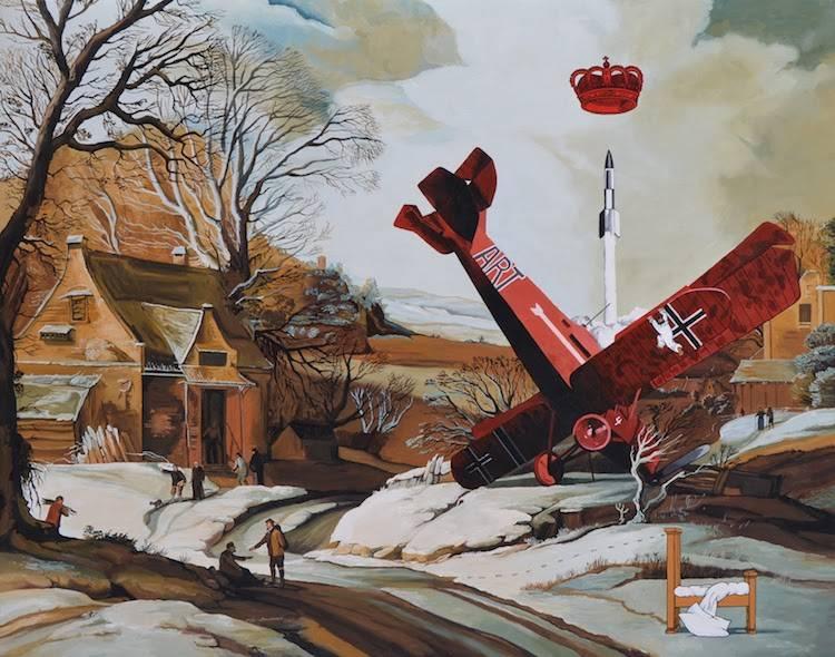 © Oscar Seco | pintura | entrevista | Arte a un Click | A1CArtes