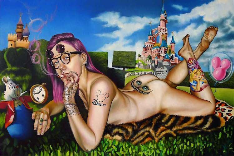 © Justyna Kisielewicz | pintura | Arte a un Click | A1CArtes