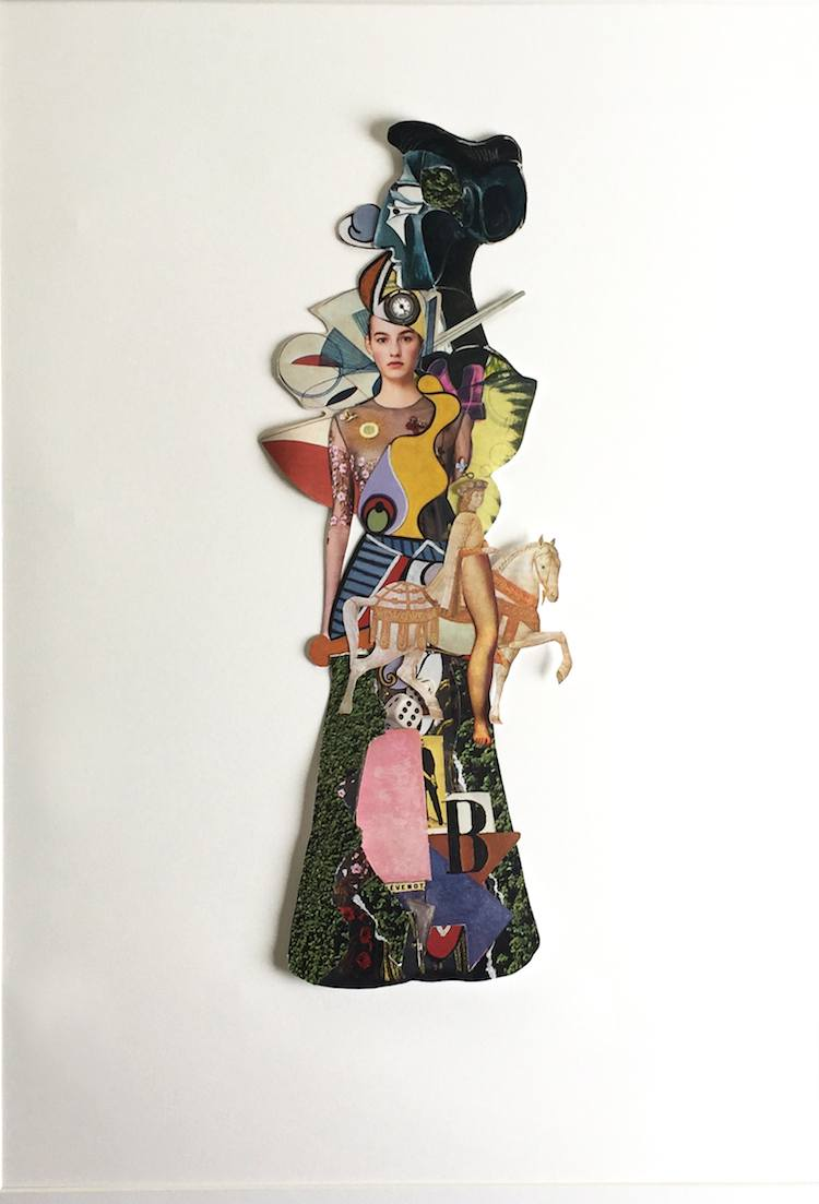 © Amalia Pereira | Collage | Cultur3Club | entrevista | Arte a un Click | A1CFerias