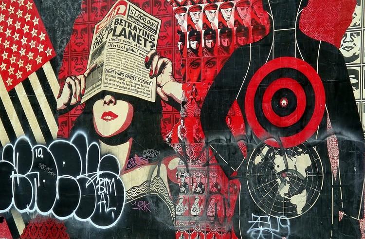 © Shepard Fairey | Streetart | Arte a un Click | A1CArtes