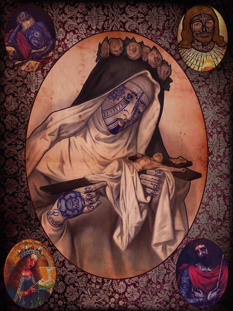 © Ramon Maiden | ilustración | Arte a un Click | A1CArtes