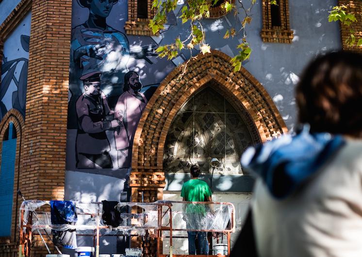 © aryz | Festival Asalto | Streetart | Arte a un Click | A1CFerias