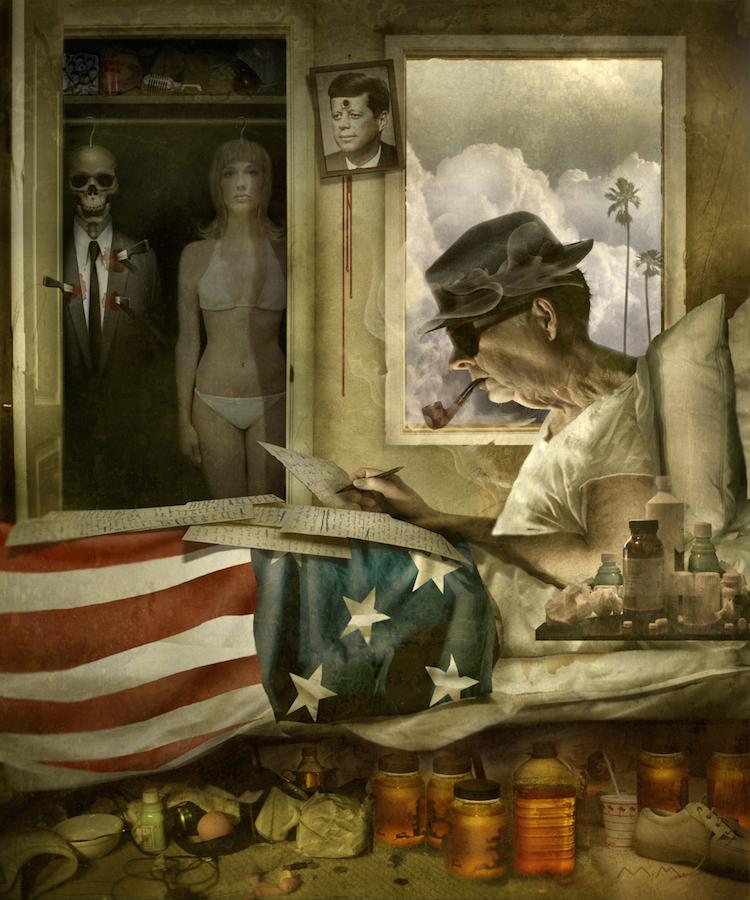 © Matt Mahurin | ilustración | Arte a un Click | A1CArtes