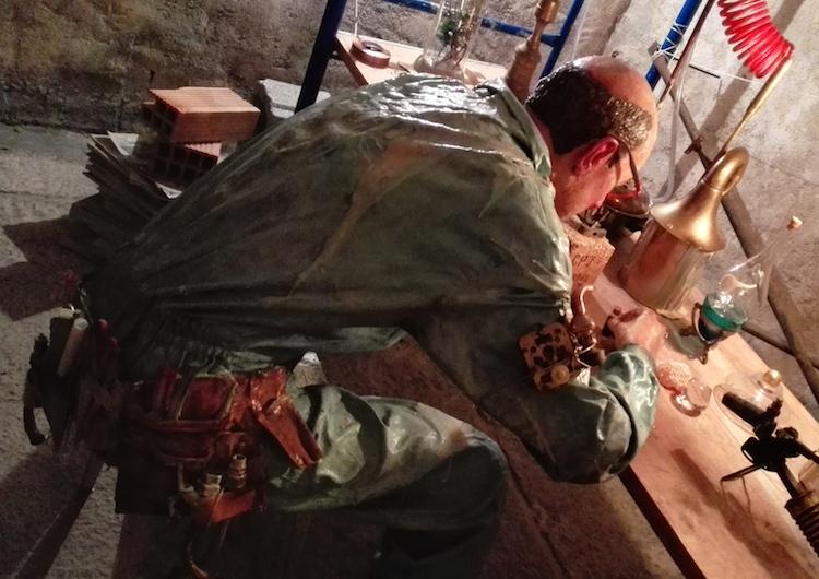 © Jose Luis Serzo | El iniciado. Los signos de un obrero hermético | Casal Solleric | Arte a un Click | A1CExpos