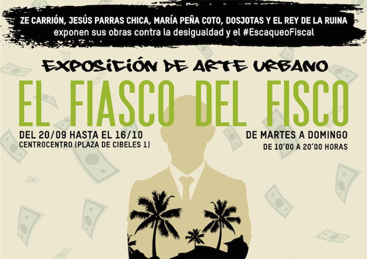 CentroCentro Cibeles | Campaña NO al Escaqueo | Oxfam Intermon | Arte a un Click | A1CExpos