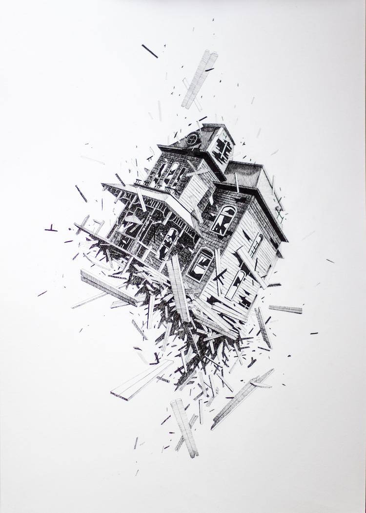 © Cayn Sánchez | Volatilidad | Arte a un Click | A1CExpos