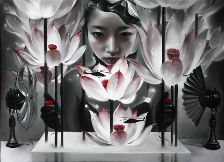© Mu Lei | Pintura | Arte a un Click | A1CArtes