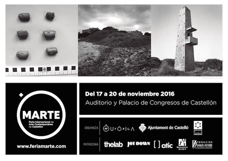 © Paula Rubio Infante | Cartel oficial MARTE | Arte a un Click | A1CFerias