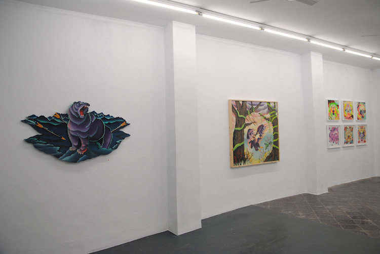 © Roberto Rodríguez | Tiempo de caza | Plastic Murs | Pintura | Arte a un click | A1CExpos