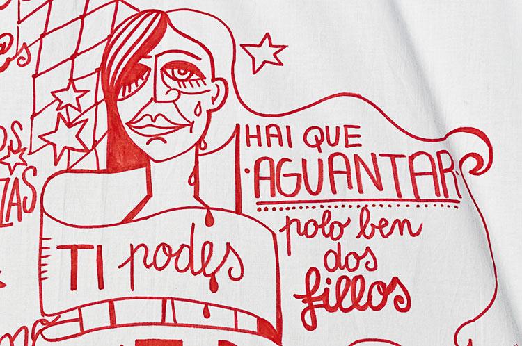 © Mónica Mura |#nonmaissabastinguidas | Concello de Ribadavia | Arte a un Click | A1CExpos