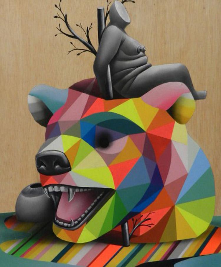 Venus Zoo| Okuda San Miguel| Galería 3Punts| Arte a un Click | A1CExpos