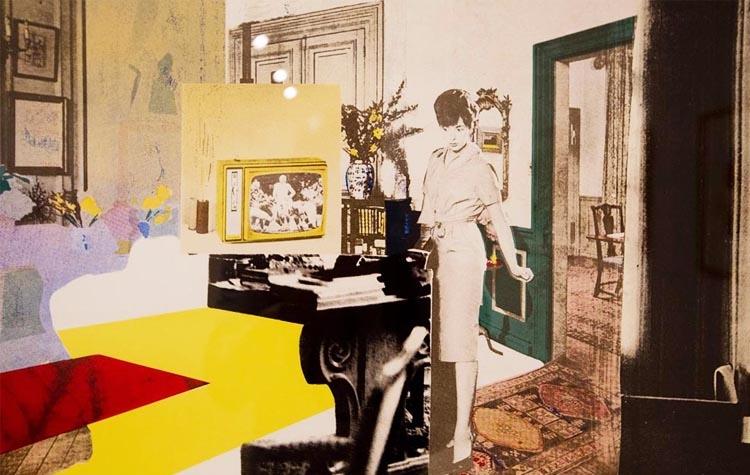 Caso de estudio. Richard Hamilton. Objetos, Interiores, Autorretratos y Gente | Richard Hamilton | IVAM | Arte a un Click | A1CExpos