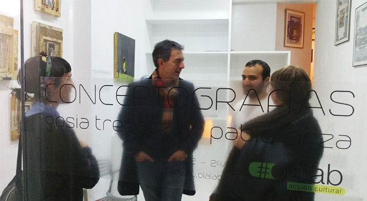 """Conceptografías""| Gosia Trebacz y Pablo Orza | Galería OlaLab Acción Cultural | Arte a un Click | A1CExpos"