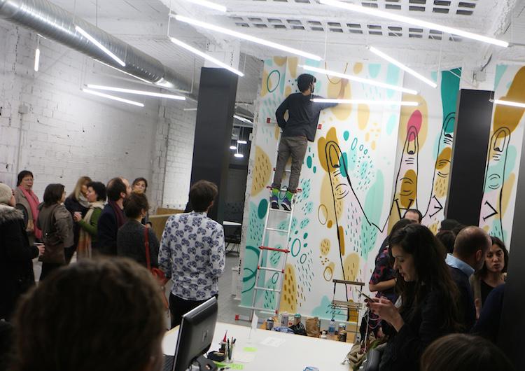 Quinta del sordo | Proyecto Quimera | Hybrid Feria | Arte a un Click | A1CFerias