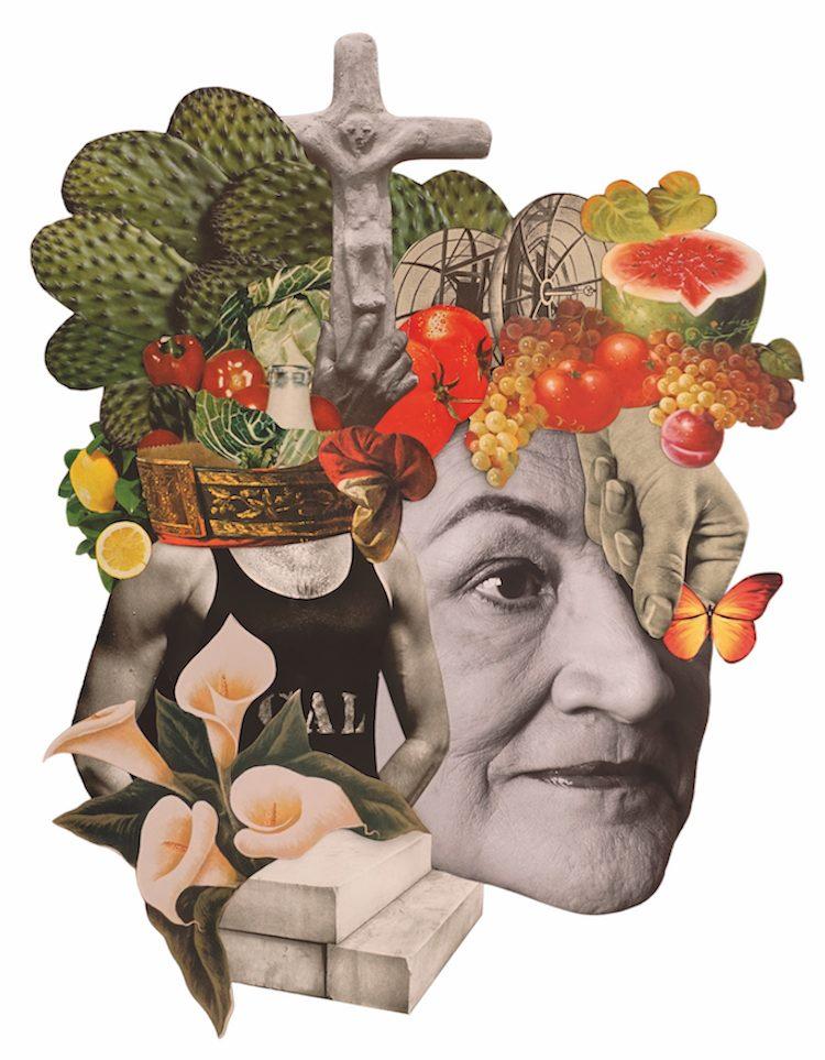 © Rebeka Elizegi | Collage Galería La Isla | Arte a un Click
