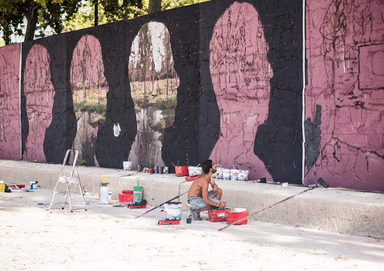 © Borondo | Festival Asalto | Arte Urbano | Zaragoza | Arte a un Click