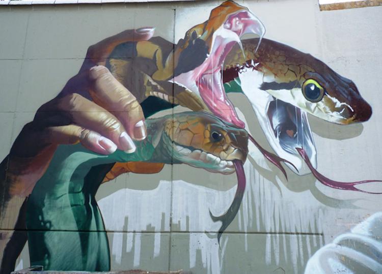 © Case Mclain | Festival Asalto | Arte Urbano | Zaragoza | Arte a un Click