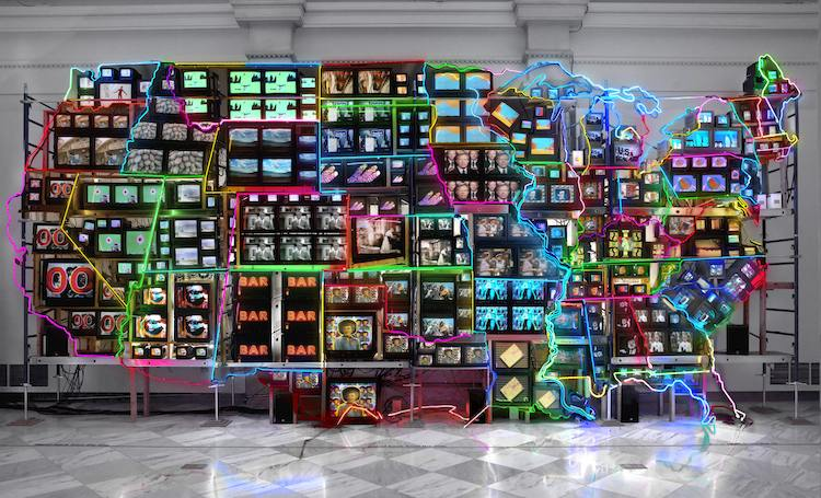 Nam June Paik | digital art | Arte a un Clck