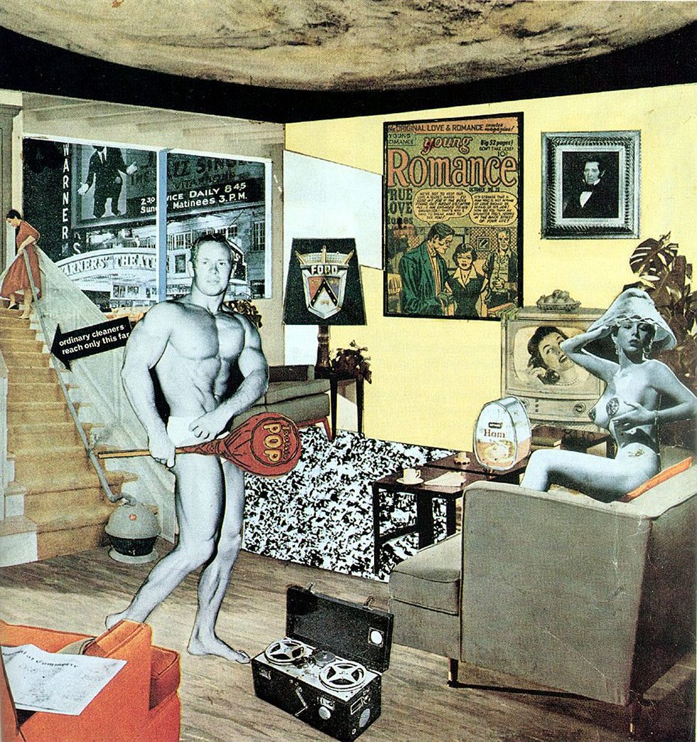 © Richard Hamilton | Collage | Arte a un Click