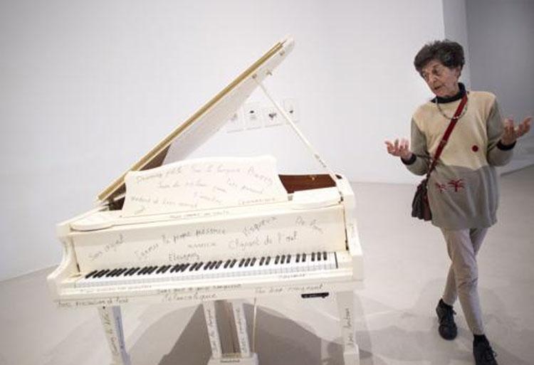 """Todas las variaciones son válidas, incluida esta""| Esther Ferrer| Museo Reina Sofía | Arte a un Click | A1CExpos"