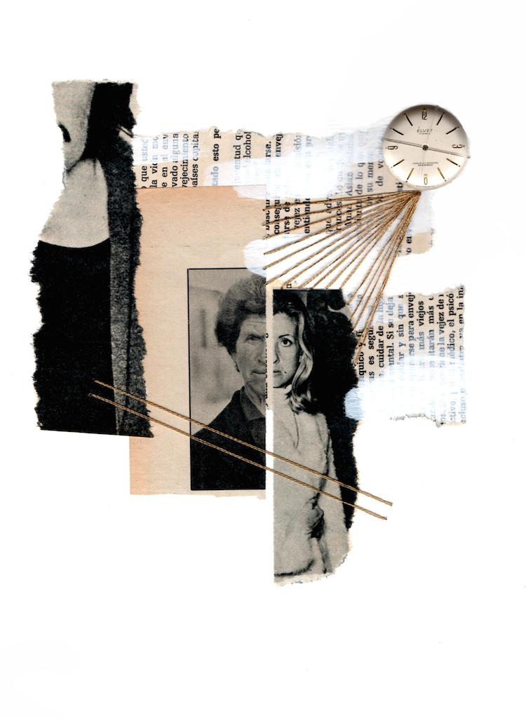 Mujeres que cortan y pegan |godArt Lab | Arte a un Click