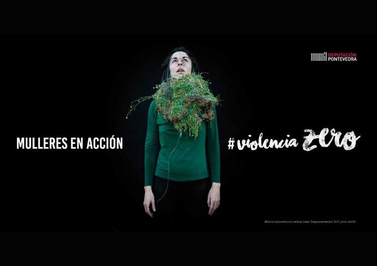 Mulleres en Acción: Violencia Zero| Paula Cabaleiro| Diputación de Pontevedra| Arte a un Click | A1CExpos