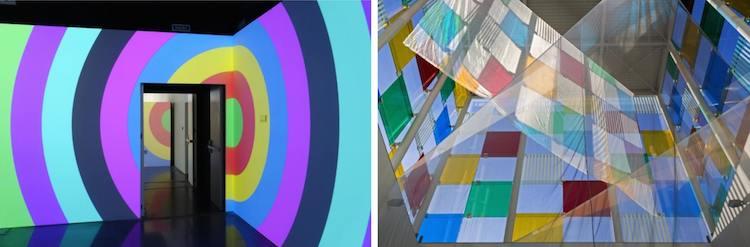 © Daniel Buren | Centro Pompidou | Exposición | Arte a un Click