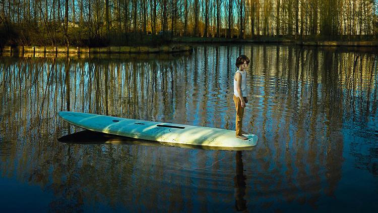 © Ellen Kooi | Nieuwe Meer - surfplank, 2017