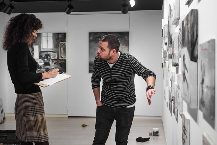 Federica no era Tonta | galería en Santiago de Compostela | Arte a un Click