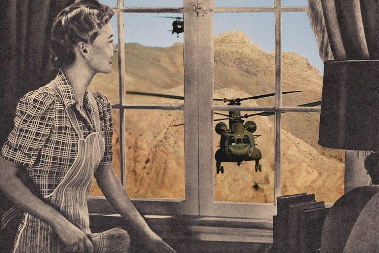 © Joe Webb |  Collage manual | Arte a un Click