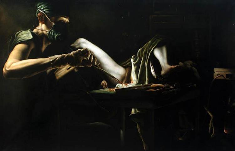 © Karel Balcar | claroscuro | Erotismo | pintura | Arte a un Click
