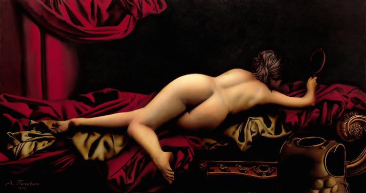 © Alexey Golovin | claroscuro | Erotismo | pintura | Arte a un Click