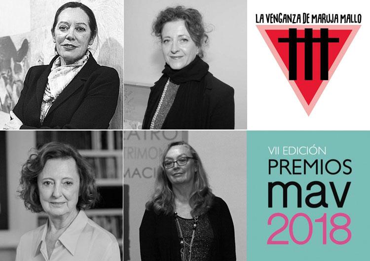 PREMIOS MAV 2018 | Mujeres de las Artes Visuales | Arte a un Click