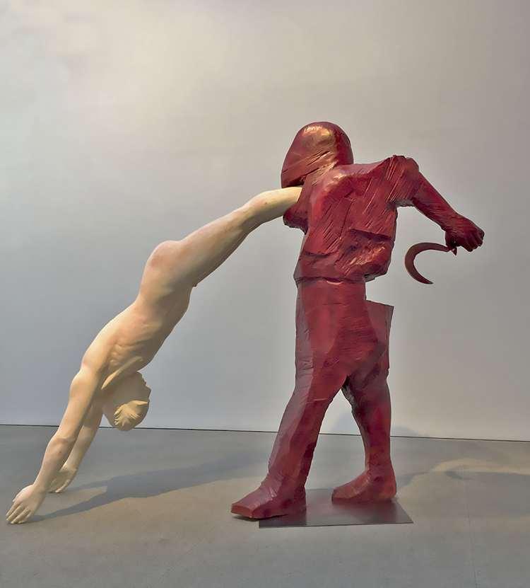 """El sueño de la razón La sombra de Goya en el Arte Contemporáneo""""   colectiva   Fernán Gómez. Centro Cultural de la Villa   Arte a un Click"""