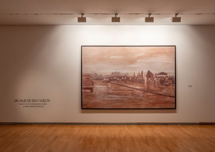 Un viaje de ida y vuelta | Coleccion Luciano Mendez Sánchez | Da2 | Arte un Click