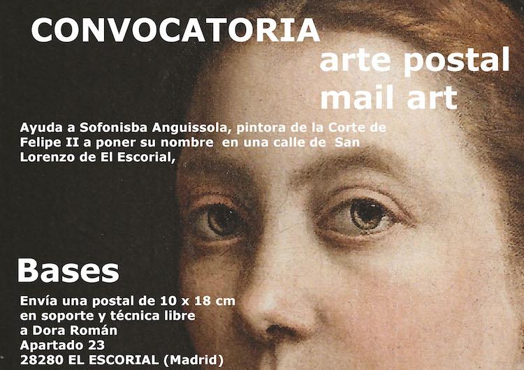 Dora Roman | convocatoria |Sofonisba Anguissola | Arte postal | Arte a un Click