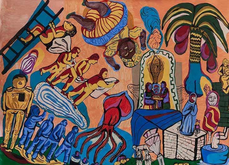 JUSTMAD XI | Creadoras | feria de arte | Madrid | Arte a un Click