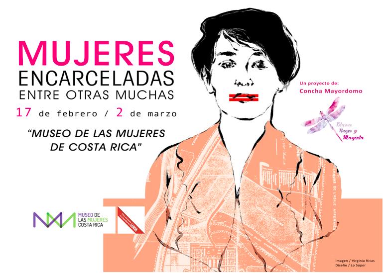 Blanco negro y Magenta |Museo de las Mujeres de Costa Rica | Arte a un Click