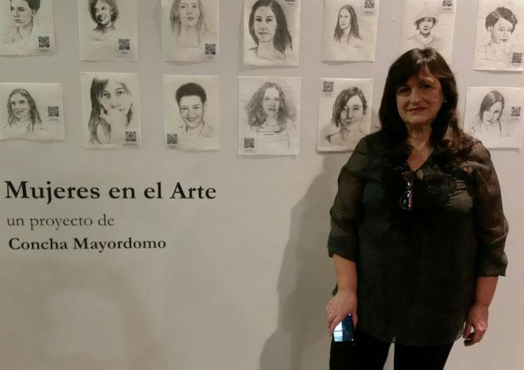 Concha Mayordomo   Mujeres en el Arte  Arte a un Click