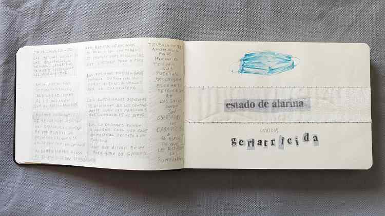 BLANCO NEGRO Y MAGENTA | Covid 19 versus Coovid 20 | EXPOSICIÓN VIRTUAL | COLECTIVA | ARTE A UN CLICK
