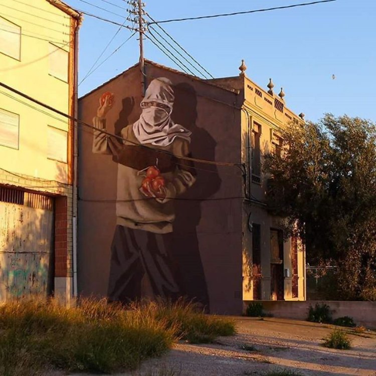 Hyuro | muralismo | Arte a un Clickl