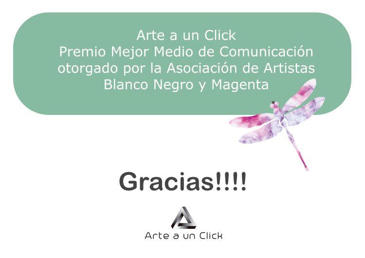 premio BLANCO NEGRO Y MAGENTA   ARTE A UN CLICK