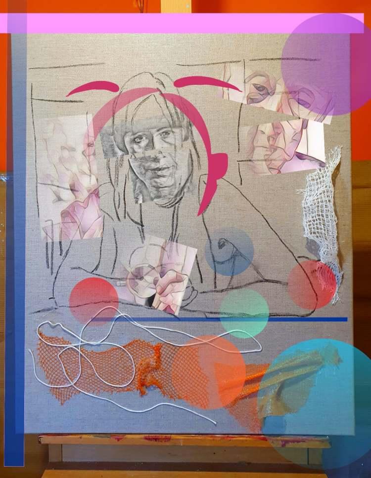 Café Cabaret Voltaire | Blanco Negro y Magenta | exposición online | Arte a un Click