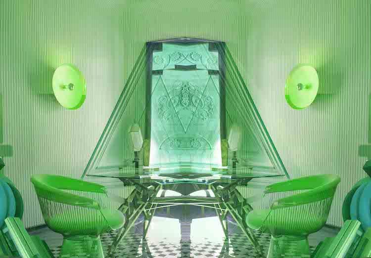 Art Madrid   ARTE A UN CLICK   SEMANA DEL ARTE Studija Mindiuzarte_Anbel_Serie Design_color.Office_Impresión sobre papel de algodón_130x90 cm_2021