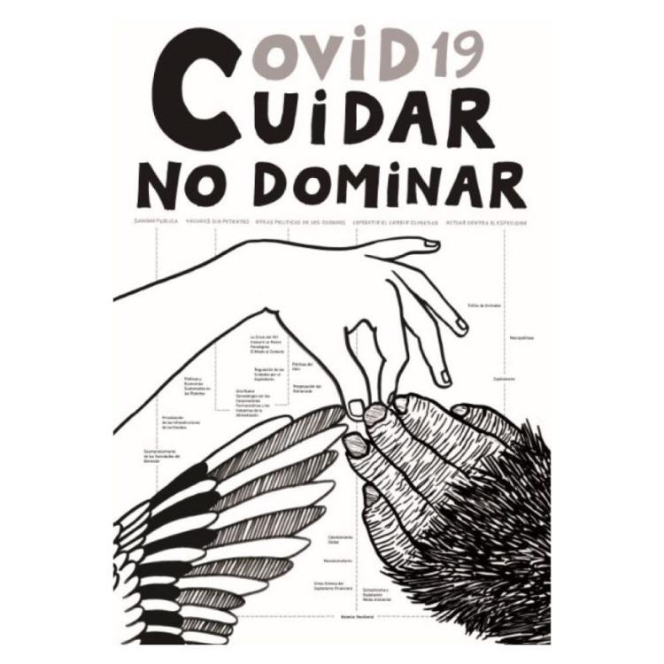 Archivo Covid-19 | MUSAC | ARTE A UN CLICK | Cartel Covid19, Cuidar, No dominar