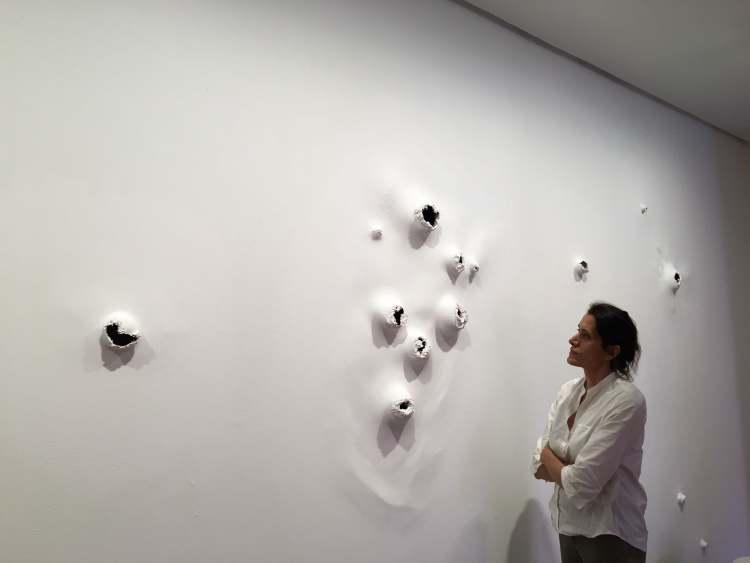 mAPA DE SUTURA | Amparo Sard | DA2 Domus Artium 2002 |Arte a un click