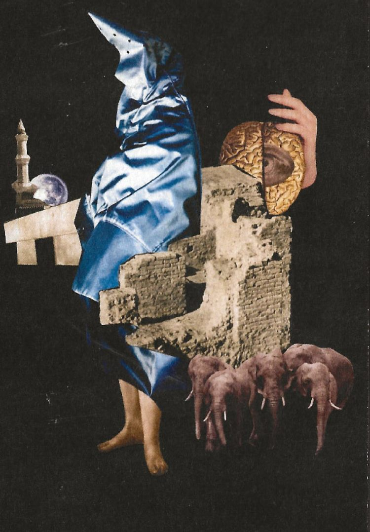 Blanco, Negro y Magenta. Mujeres Mirando Mujeres. artistas afganas.